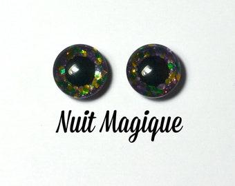 Eyechips 13 mm - Coloris Nuit Magique Taille Pullip Modèles Récents