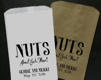 Nuts about each other FAVOR BAG