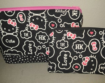 Hello Kitty make up bag and coin purse