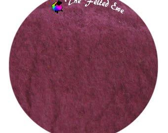 Needle Felting Maori Wool Batt / FB48 Sweet Onion Maori Wool Fluffy Batt