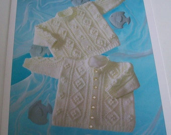 Baby aran knitting pattern