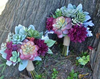 Custom Bridesmaid Bouquets/SOLD