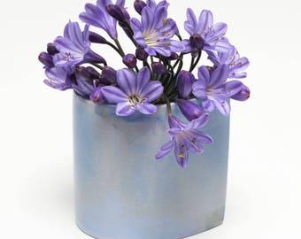 Ceramic Porcelain Cup -  Contemporary Mini Planter - Snack Pot - Handmade Home Decor - Birthday Gift - Barbara Pianca Design