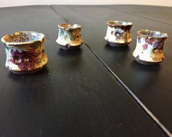 Miniature floral cups