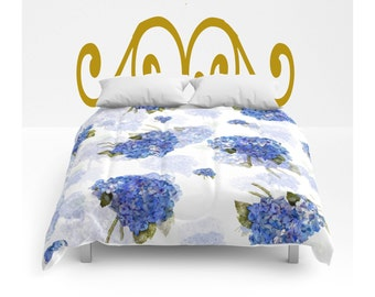 Comforter, Hydrangea Nosegay, bedding, twin, full/queen and King sizes