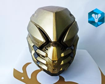 Painted and wearable Hunter helmet  Unyielding casque.