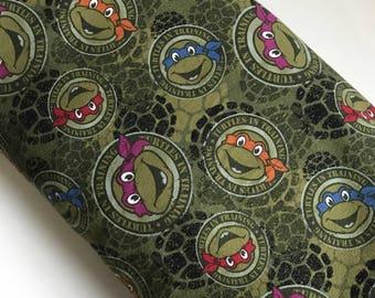 KNIT Teenage Mutant Ninja Turtles Cotton/Spandex Jersey sewing apparel fabric By the Yard SC-15K08