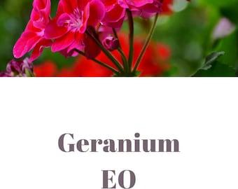 Geranium essential oil QRDS