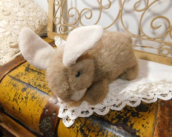 Bunny Rabbit Stuffed Animal, 1997 TY Stuffed Bunny,Vintage Stuffed Animals :)s*