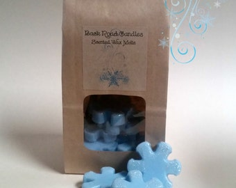 Jack Frost Scented Wax Melts - Snowflake Shape or Cubes - 3 oz. Bag