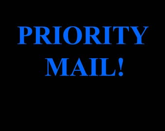 Priority Mail 2-3 Days Delivery! USA Only.