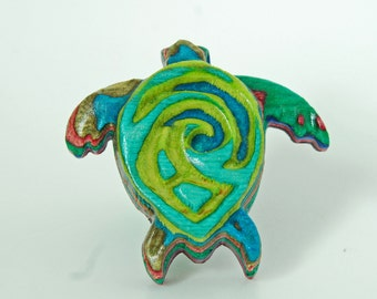 Turtle Drawer Pull
