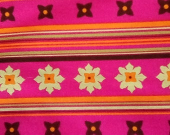 Andalucia by Patty Young, Michael Miller fabrics, flower stripe