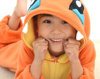 Pokemon Costume, Charmander, child size