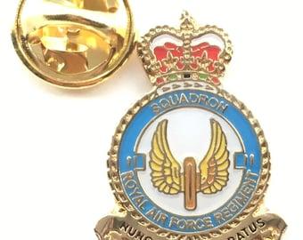 RAF No 2 Squadron Royal Air Force Pin Badge