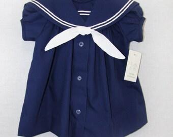 Nautical Sailor Dress | Nautical Birthday Girl | Baby Sailor | Baby Sailor Outfit | Baby Girl Nautical Dress | Sailor Outfit  291645