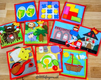 """VOL 3 """"My Big World"""" Quiet Book, Busy Book, Toddler Book"""