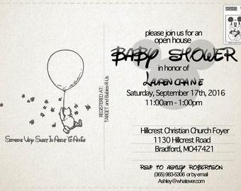 Disney Baby Shower Invitation