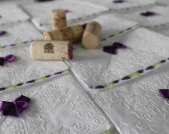 Grape Towel - Wine Party - Paper Towel (12 towels)