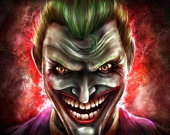 Joker Arkham - Free USA Shipping