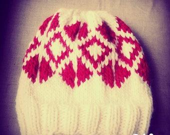 Handmade hats - knitting - wool