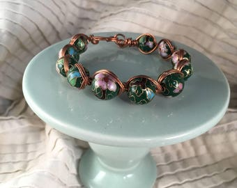 Hand Twisted Copper Bracelet