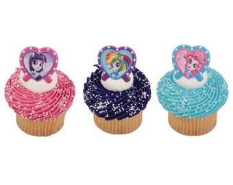 EQUESTRIA GIRLS  Cupcake Rings