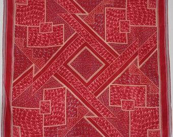 LANVIN  silk scarf  Vintage