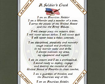 United States Army Soldiers Creed