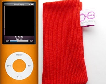 iPod nano sock (latest version 4th generation) red