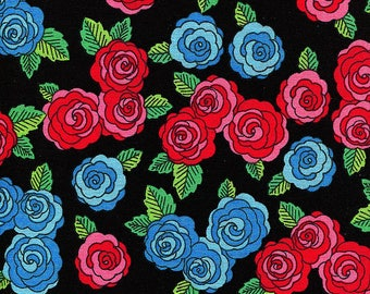 New - Frida's Roses - David Textiles - 1 yard - More on Order - BTY