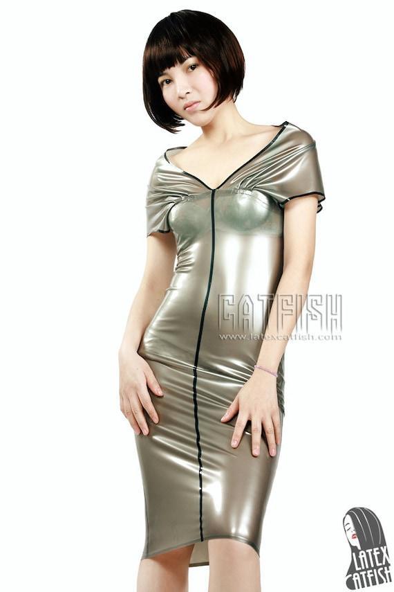 Rubber Prom Dress