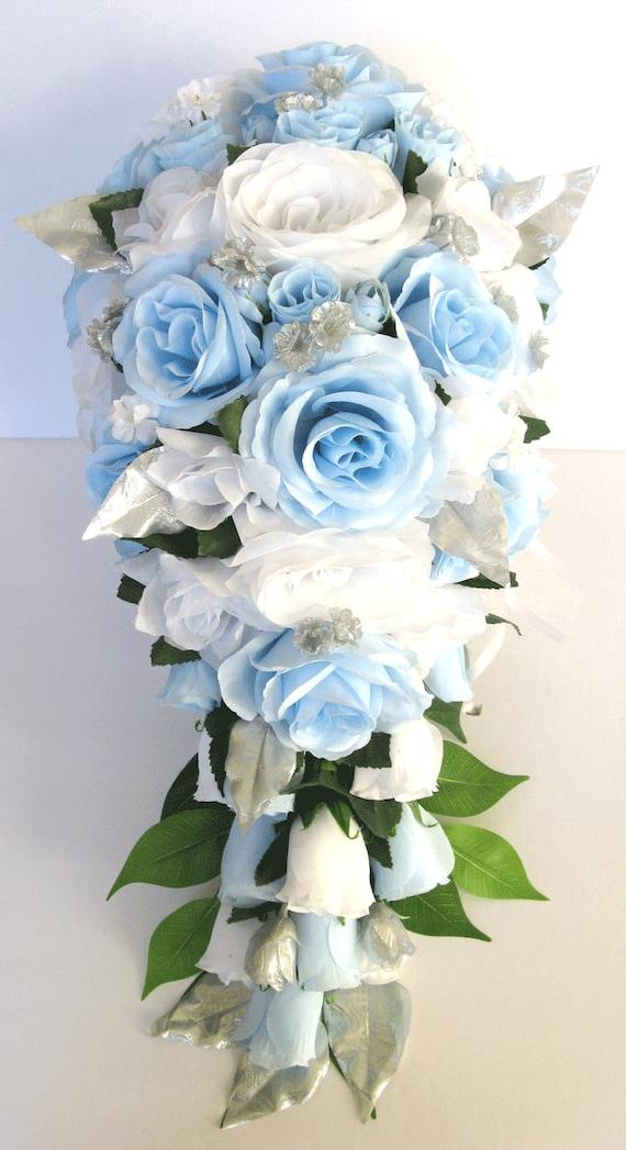 21 piece package Wedding Bouquet Bridal Bouquets Silk Flower
