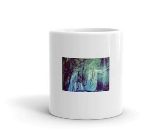 Grey Girl Mug