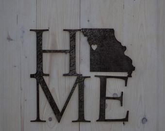 Missouri Home Metal Decor