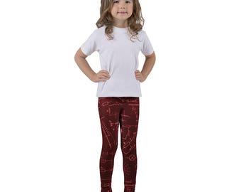 Kid's leggings Physics Edition