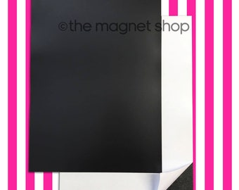 Self Adhesive Magnetic Sheets 2/4/10 Packs 0.85mm Extra Thick Magnet Strong Pull For Crafts, Sign Making, Die Storage