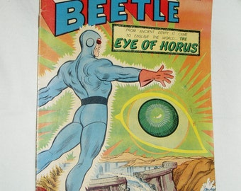 Comic Book, Blue Beetle, #54, Feb-Mar 1966, Fine+