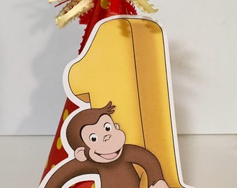 Curious George Party Hat/Birthday Hat