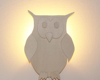 Wall lamp owl