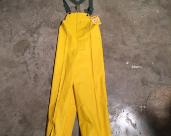 Vintage Rain Wear Water Proofs Vulcanized Work Wear