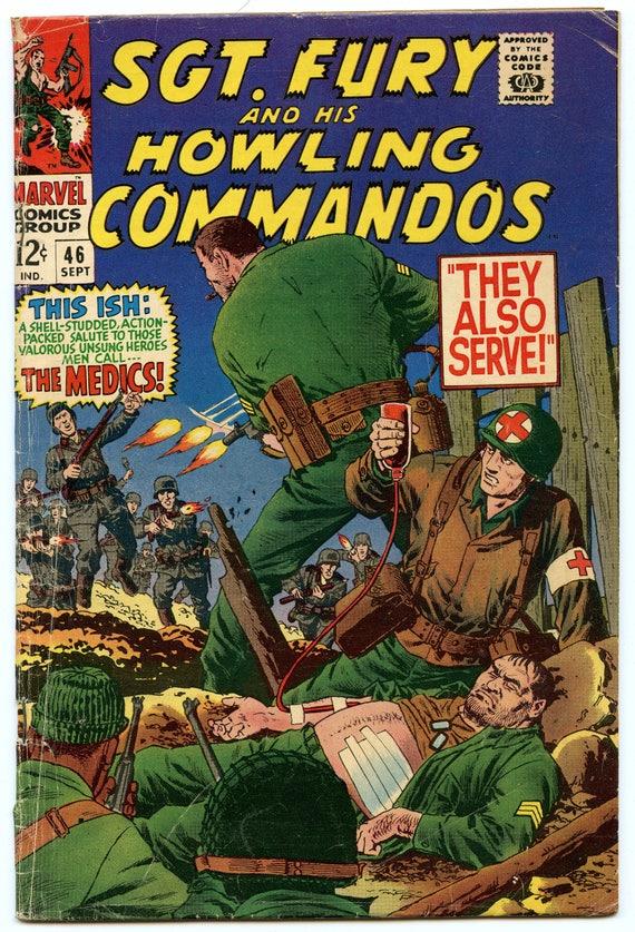 Sgt. Fury 46 Sep 1967 VG- (3.5)