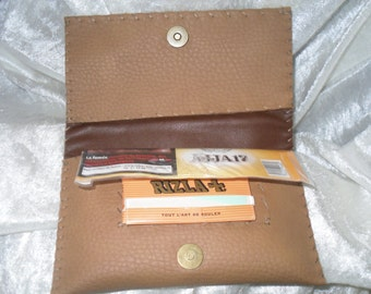 pouch tabacco,colour havana