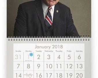 TOM SELLECK 2018 Calendar