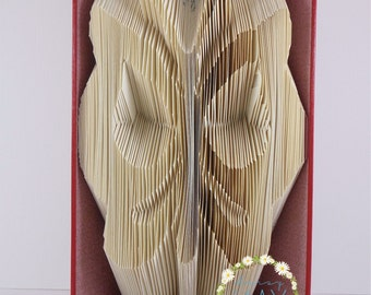 Beautiful Butterfly Book Folding Pattern - Instant Download PDF (251 Folds) With Instructions