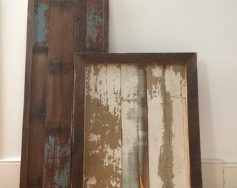 Reclaimed Wood Wall Feature