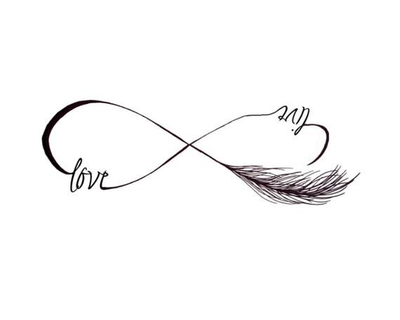 infini amour live tatouages temporaires lot de 2 festival. Black Bedroom Furniture Sets. Home Design Ideas