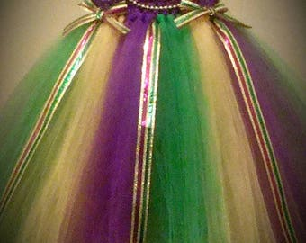 Mardi Gras Tutu Dress