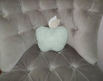 Apple shaped cushion