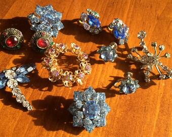 Rhinestone Jewelry Lot